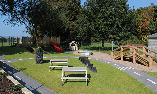 Whittington Preschool, Staffordshire, Garden